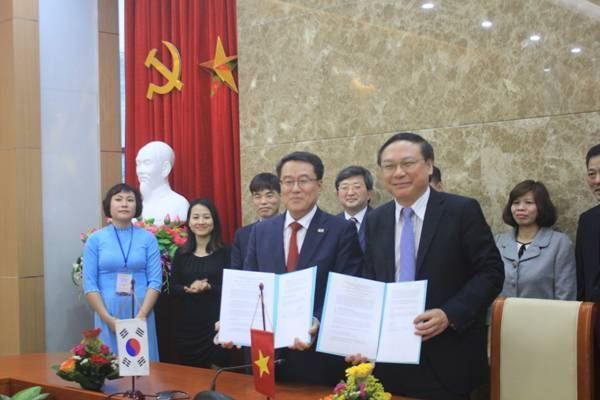 Việt Nam - Hàn Quốc : Đẩy mạnh hợp tác toàn diện trong lĩnh vực khí tượng thủy văn