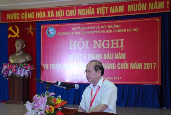 Đại học TN&MT Hà Nội: Tạo bước đột phá, phấn đấu trở thành trường đại học trọng điểm về đào tạo và cung cấp nguồn nhân lực cho ngành TN&MT